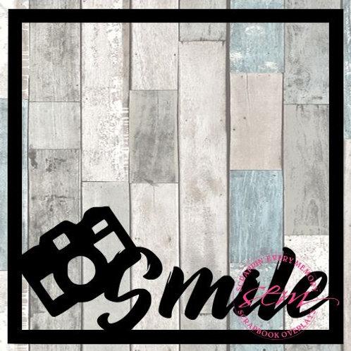 Smile Scrapbook Overlay