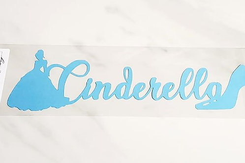 Cinderella Scrapbook Deluxe Die Cut