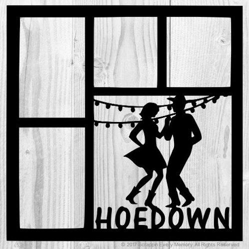 Hoedown Scrapbook Overlay