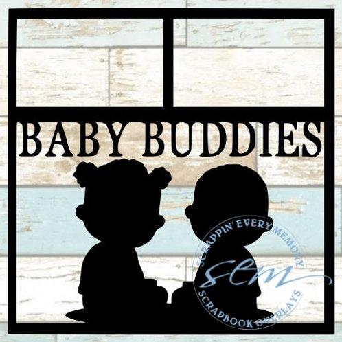Baby Buddies Scrapbook Overlay