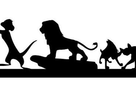Lion King Scrapbook Border