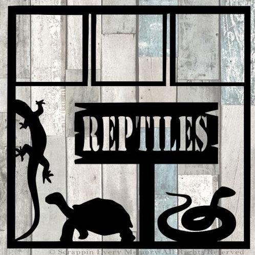 Reptiles Scrapbook Overlay