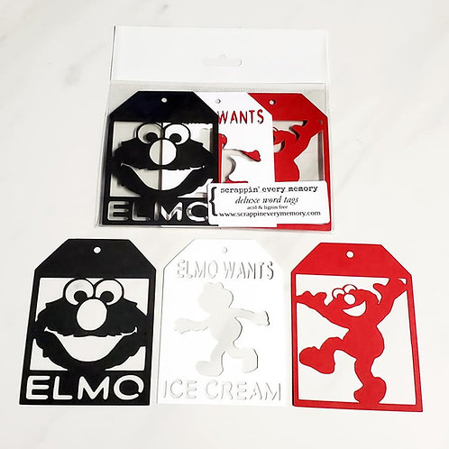 Elmo Deluxe Word Tags