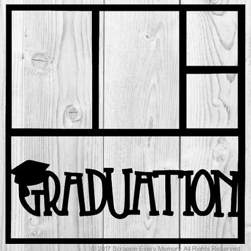 Graduation Scrapbook Overlay