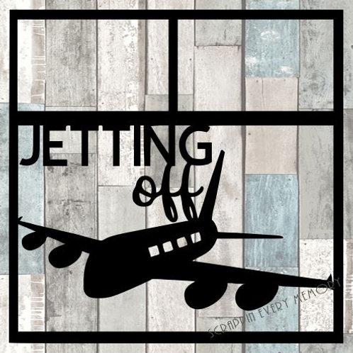 Jetting Off Scrapbook Overlay