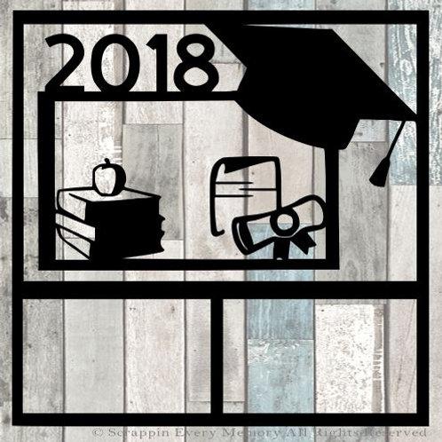 2018 Graduation Scrapbook Overlay