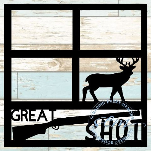 Great Shot Scrapbook Overlay