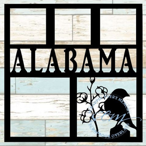 Alabama Scrapbook Overlay