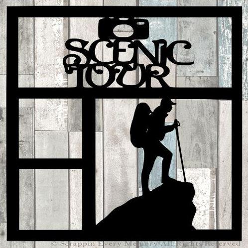 Scenic Tour Scrapbook Overlay