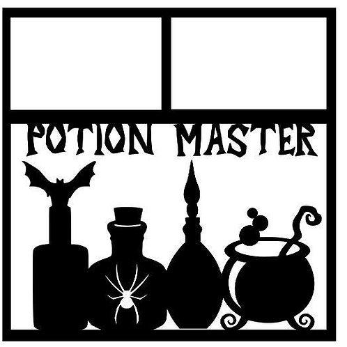 Potion Master Scrapbook Overlay