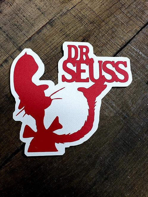 Dr. Seuss Paper Piecing Die Cut