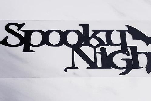 Spooky Night Scrapbook Deluxe Die Cut