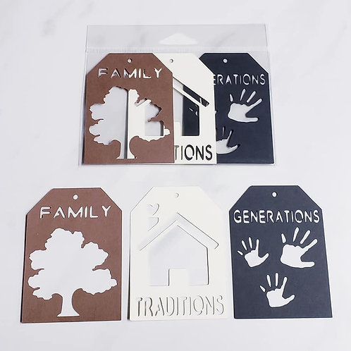 Family Deluxe Word Tags