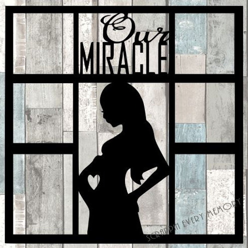 Our Miracle Scrapbook Overlay