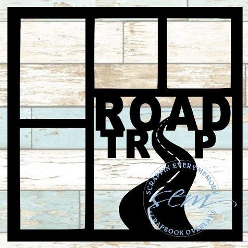 Road Trip Scrapbook Overlay