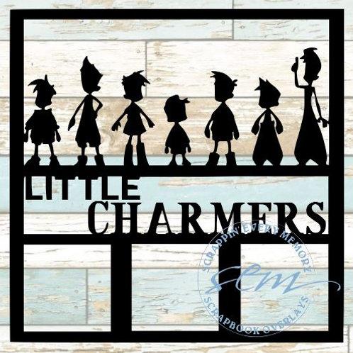 Little Charmers Scrapbook Overlay