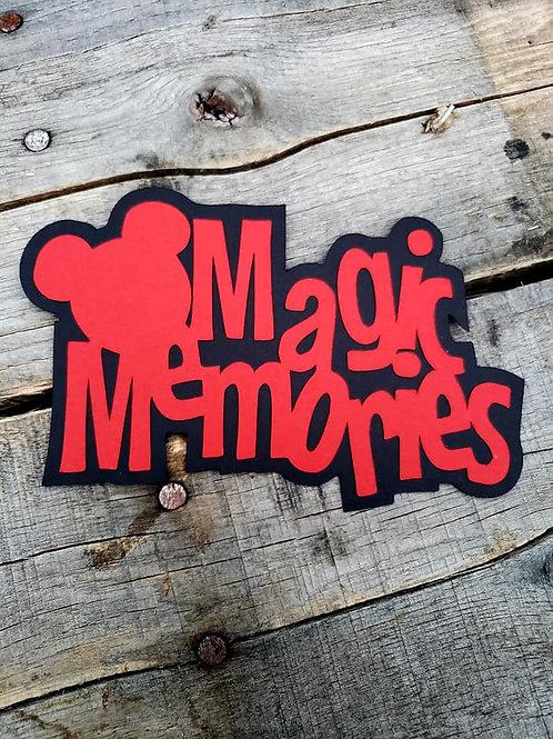 Magic Memories Paper Piecing Die Cut