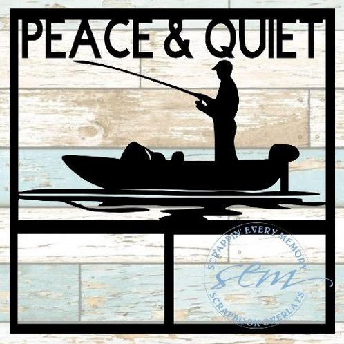 Peace & Quiet Scrapbook Overlay