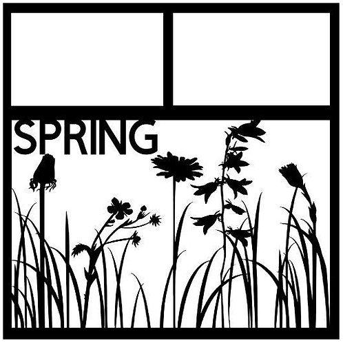 Spring Scrapbook Overlay
