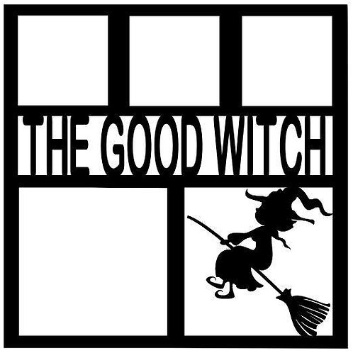 The Good Witch Scrapbook Overlay