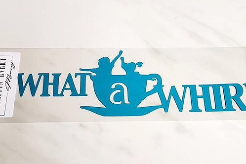 What A Whirl Scrapbook Deluxe Die Cut