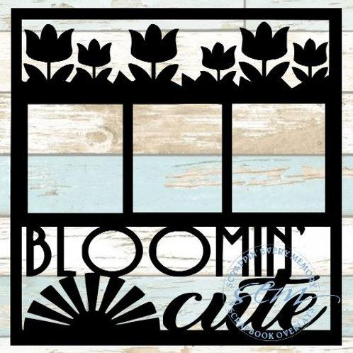 Bloomin' Cute Scrapbook Overlay