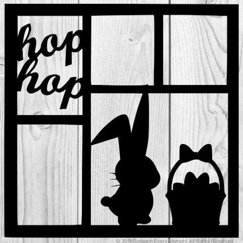 Hop Hop Scrapbook Overlay