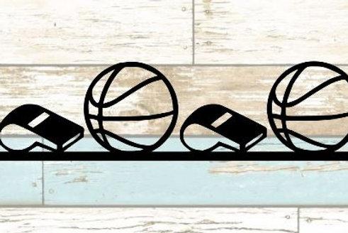 Basketball Scrapbook Border