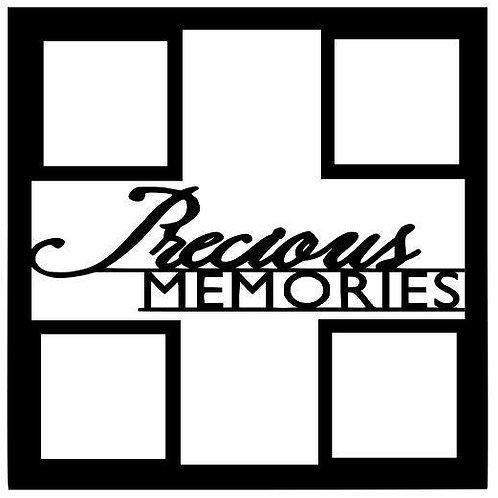 Precious Memories Scrapbook Overlay