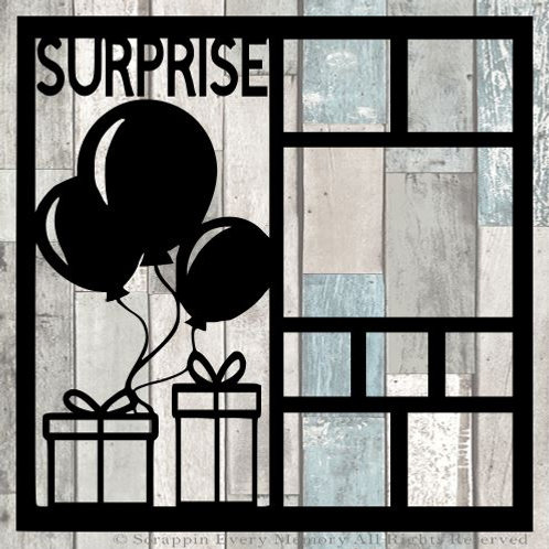 Surprise Scrapbook Overlay