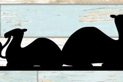 Camels Scrapbook Border
