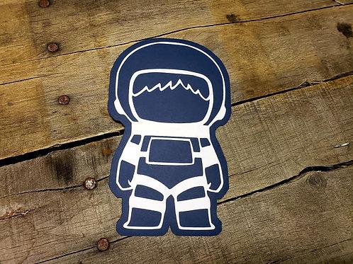 Astronaut Paper Piecing Die Cut