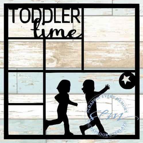 Toddler Time Scrapbook Overlay