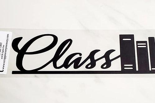 Class Scrapbook Deluxe Die Cut
