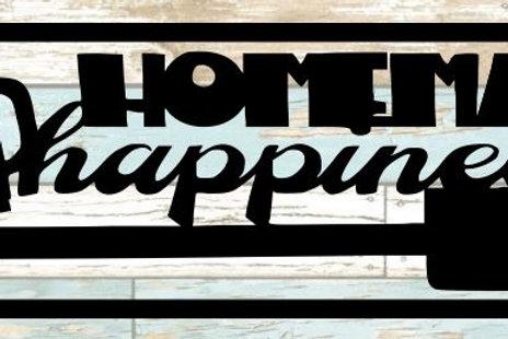Homemade Happiness Scrapbook Title