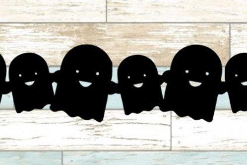Ghosts Scrapbook Border