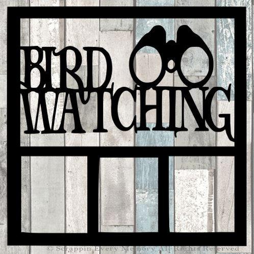Bird Watching Scrapbook Overlay