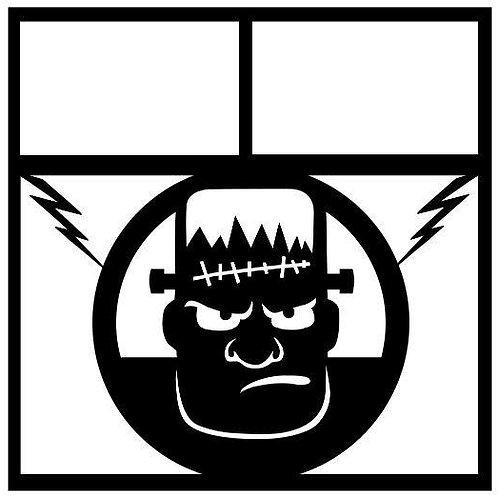 Frankenstein Scrapbook Overlay