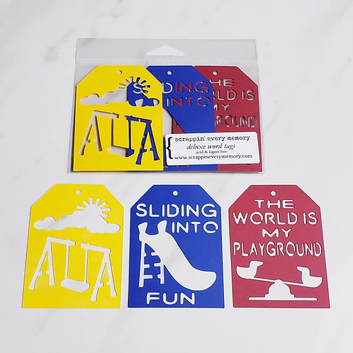 Playground Deluxe Word Tags