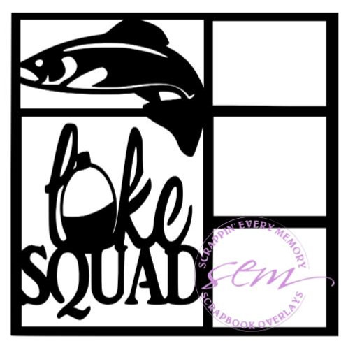 Lake Squad Scrapbook Overlay