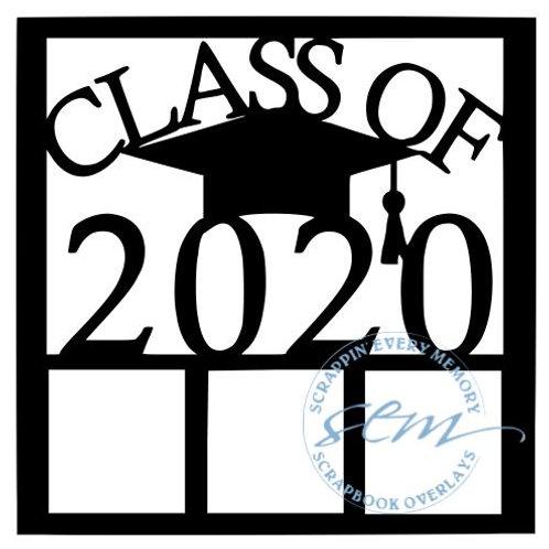 Class Of 2020 Scrapbook Overlay