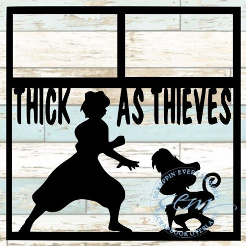 Thick As Thieves Scrapbook Overlay