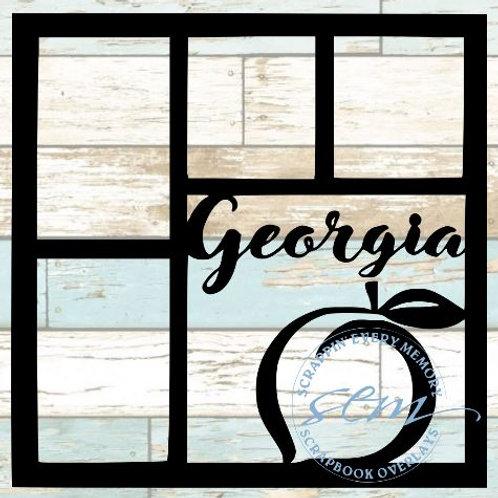 Georgia Scrapbook Overlay