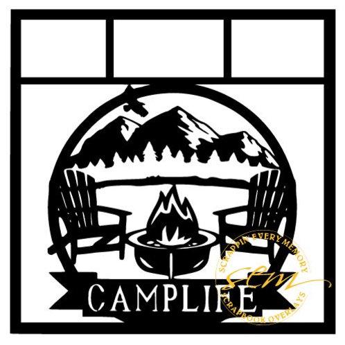 Camp Life Scrapbook Overlay