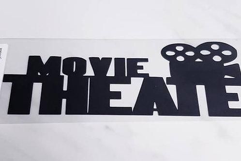 Movie Theater Scrapbook Deluxe Die Cut