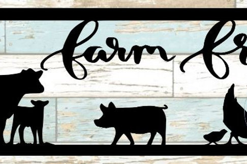 Farm Fresh Scrapbook Title