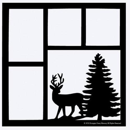 Deer Scrapbook Overlay