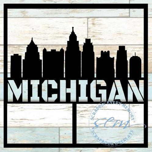 Michigan Scrapbook Overlay