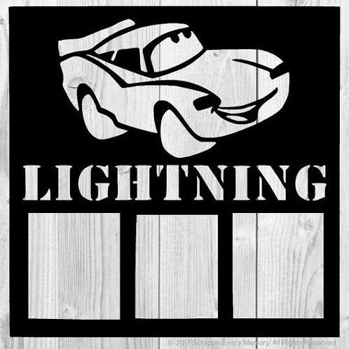 Lightning Scrapbook Overlay