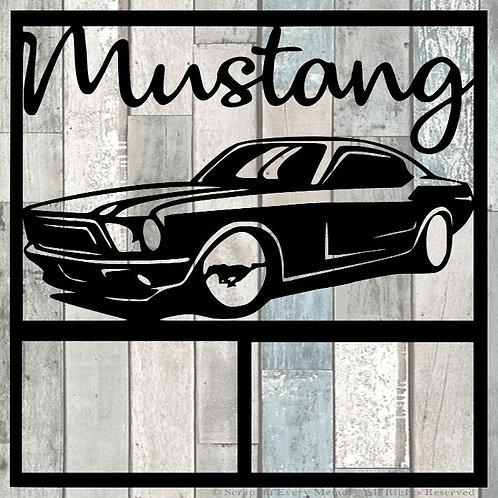 Mustang Scrapbook Overlay